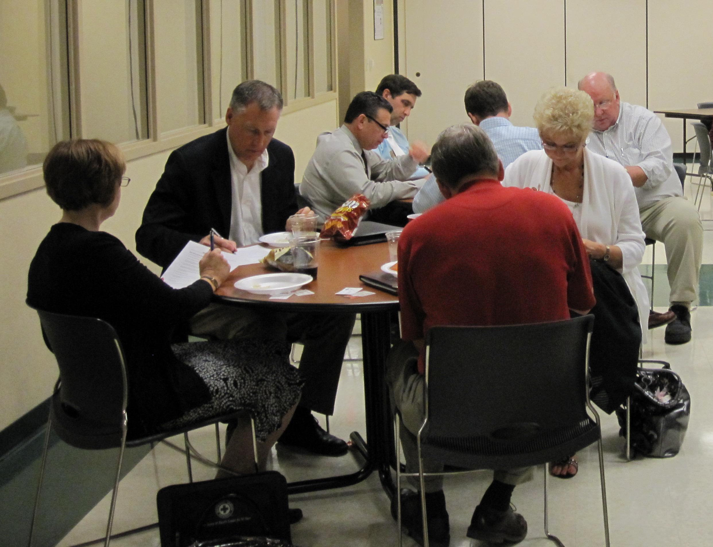 Leadership resources: three percent club meeting