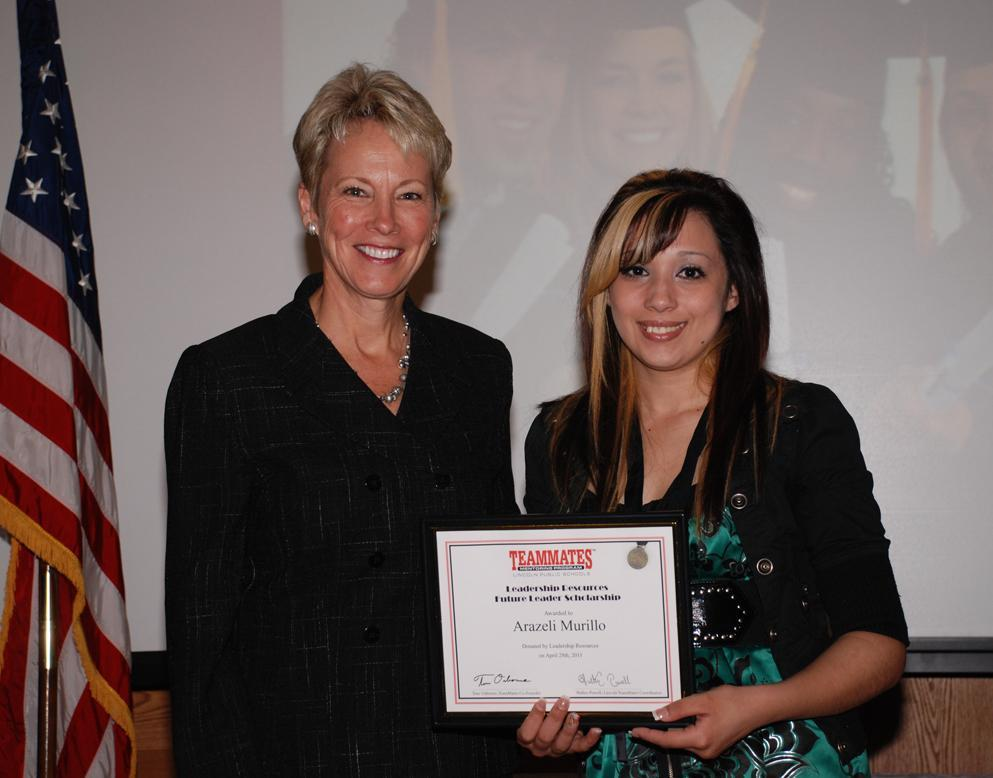 Leadership Resources Teammates Scholarship 2011