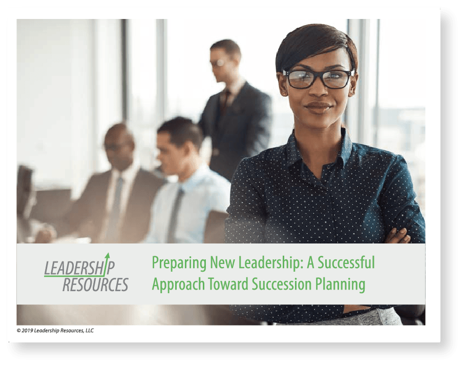Leadership Resources succession planning meeting